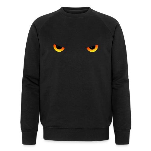 Augen feurig - Männer Bio-Sweatshirt von Stanley & Stella