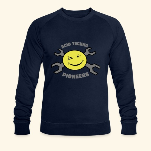 ACID TECHNO PIONEERS - SILVER EDITION - Men's Organic Sweatshirt by Stanley & Stella