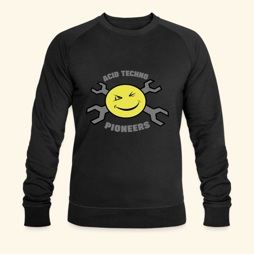 ACID TECHNO PIONEERS - SILVER EDITION - Men's Organic Sweatshirt by Stanley & Stella