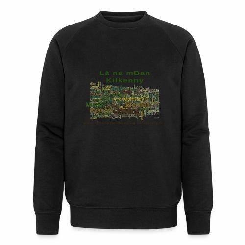 Lá na mban Kilkenny Wordle - Men's Organic Sweatshirt by Stanley & Stella