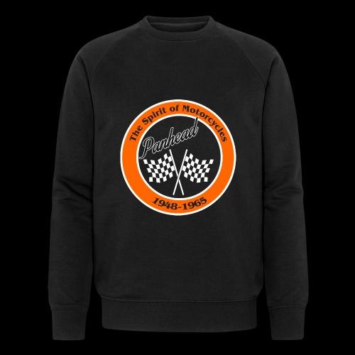 Zielflagge Panhead - Männer Bio-Sweatshirt