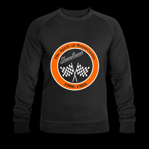 Zielflagge Shovelheat - Männer Bio-Sweatshirt