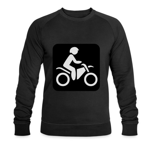 motorcycle - Miesten luomucollegepaita