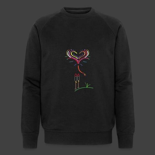 Feuerwerk - Männer Bio-Sweatshirt