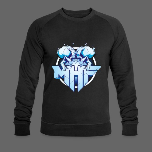 MHF New Logo - Men's Organic Sweatshirt by Stanley & Stella