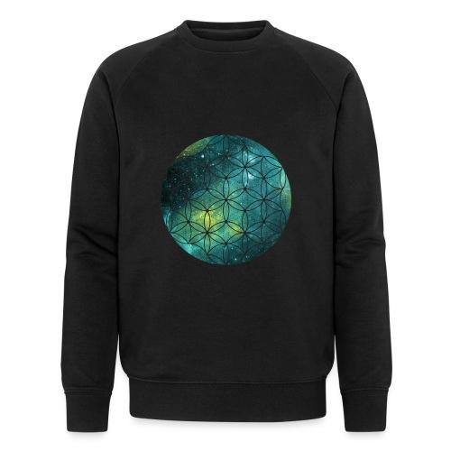 FlowerOfLife Cool - Mannen bio sweatshirt