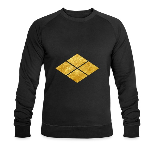 Takeda kamon Japanese samurai clan faux gold - Men's Organic Sweatshirt by Stanley & Stella
