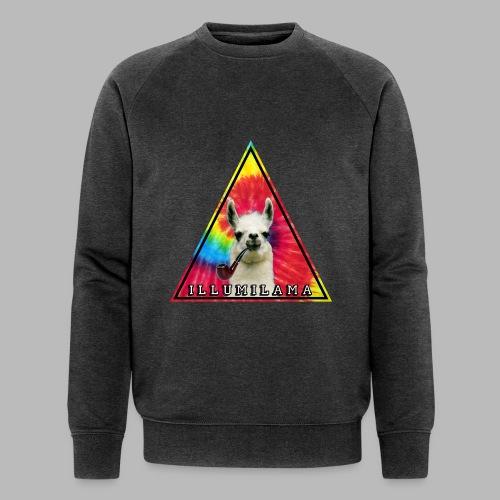 Illumilama logo T-shirt - Men's Organic Sweatshirt by Stanley & Stella