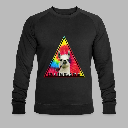 Illumilama logo T-shirt - Men's Organic Sweatshirt