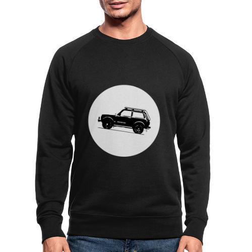 Lada Niva Kreis - Männer Bio-Sweatshirt