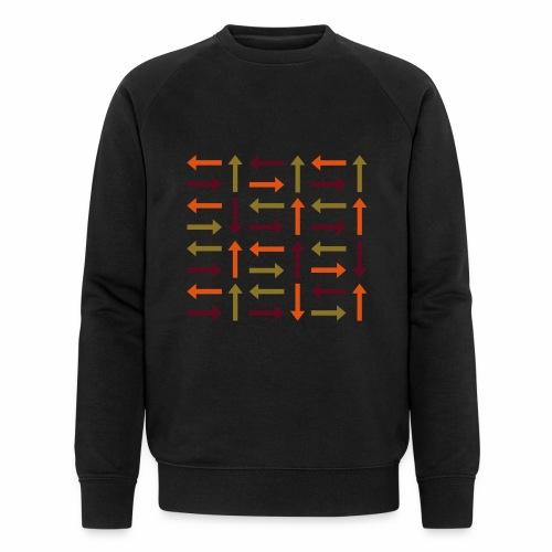 Pfeile bunt - Männer Bio-Sweatshirt von Stanley & Stella