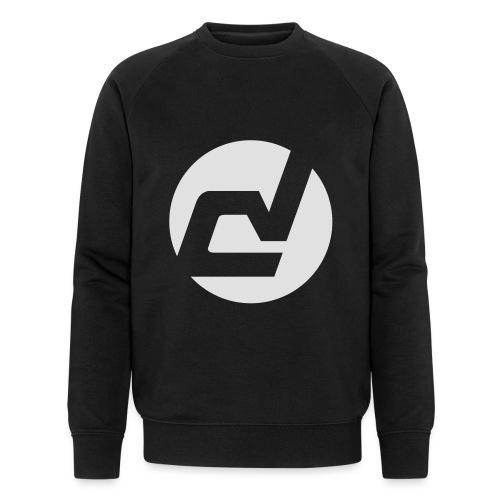logo blanc - Sweat-shirt bio