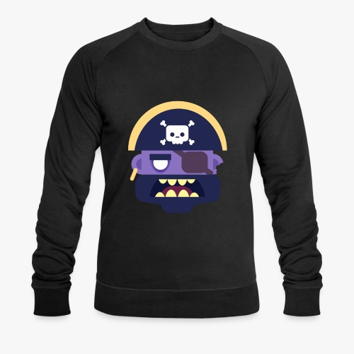 Mini Monsters - Captain Zed - Økologisk Stanley & Stella sweatshirt til herrer