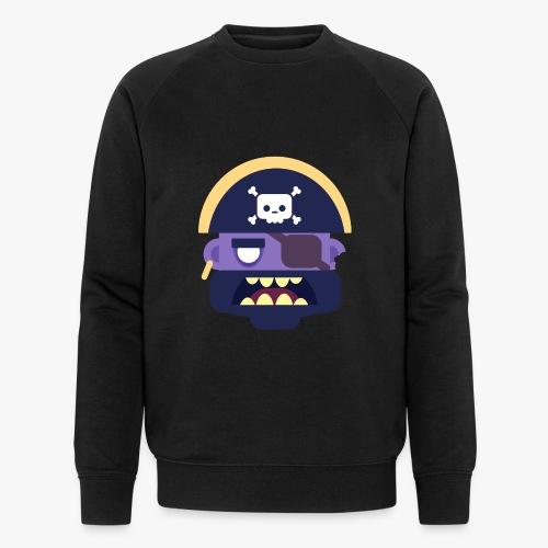 Mini Monsters - Captain Zed - Økologisk sweatshirt til herrer