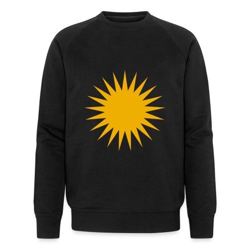 Kurdische Sonne Symbol - Männer Bio-Sweatshirt von Stanley & Stella