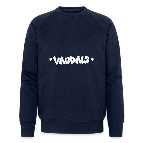 Vandalz White - Felpa ecologica da uomo