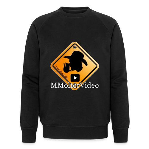 Logo MMolterVideo - Männer Bio-Sweatshirt von Stanley & Stella