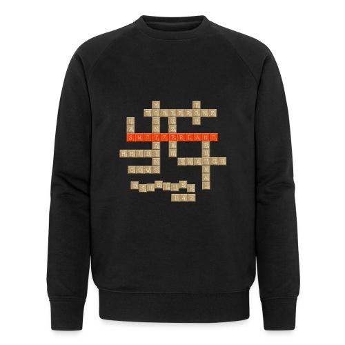 Scrabble - Switzerland - Männer Bio-Sweatshirt