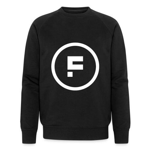 Logo Rond Wit Fotoclub - Mannen bio sweatshirt