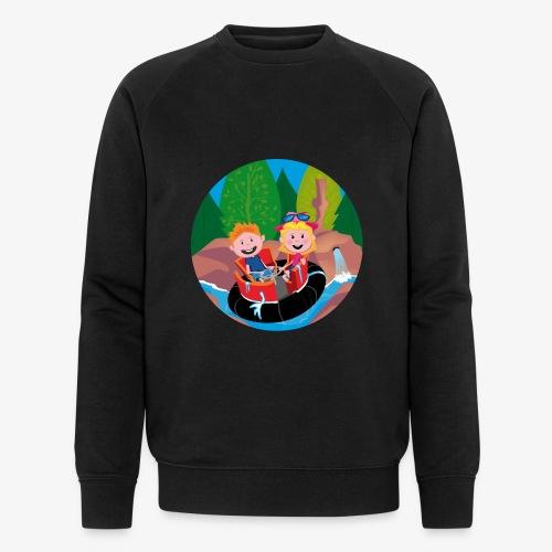 Themepark: Rapids - Mannen bio sweatshirt van Stanley & Stella