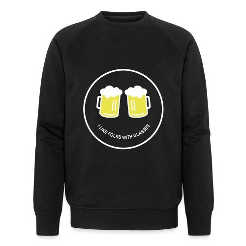 Bier Smiley – Oktoberfest – Bierzelt – Aprèski - Männer Bio-Sweatshirt von Stanley & Stella