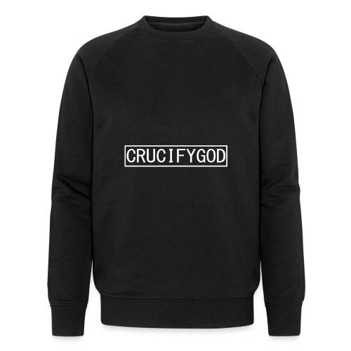 Crucify God | Logo - Miesten luomucollegepaita
