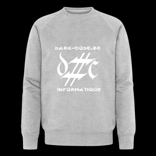Dark-Code Gothic Logo - Sweat-shirt bio