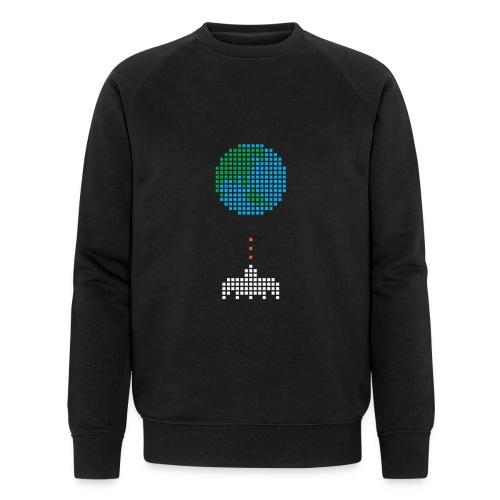 Earth Invaders - Männer Bio-Sweatshirt