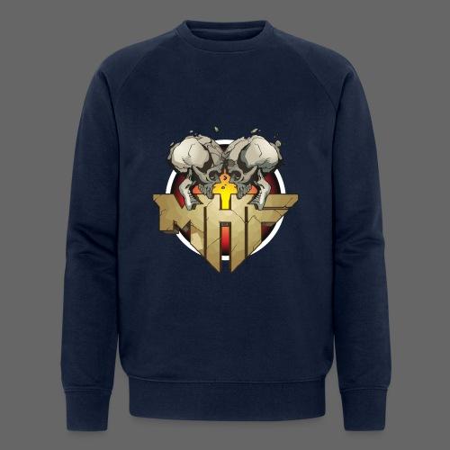 new mhf logo - Men's Organic Sweatshirt by Stanley & Stella