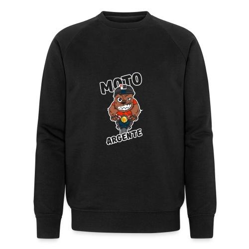 moto argente - Sweat-shirt bio Stanley & Stella Homme