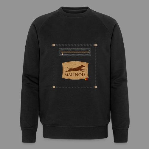 Belgian shepherd Malinois - Men's Organic Sweatshirt by Stanley & Stella