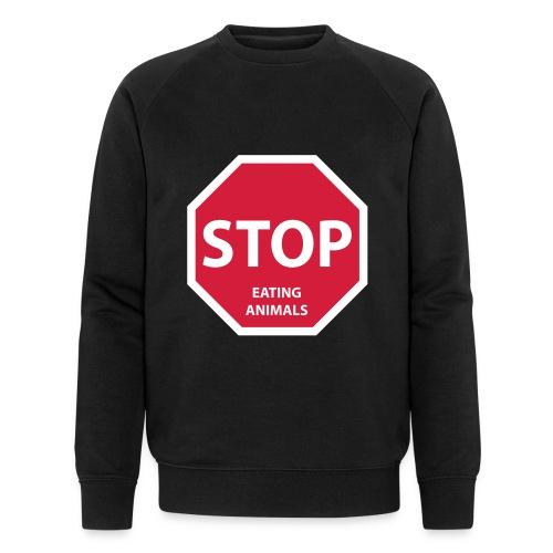 Stop-Eating-Animals - Männer Bio-Sweatshirt von Stanley & Stella