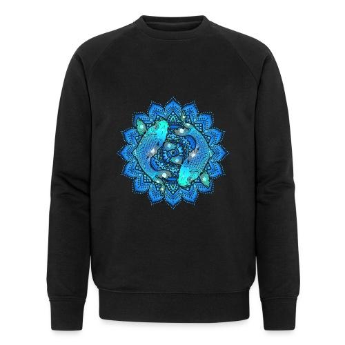 Asian Pond Carp - Koi Fish Mandala 1 - Männer Bio-Sweatshirt von Stanley & Stella