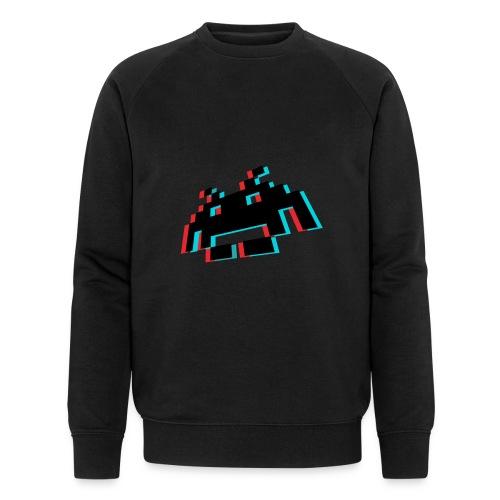 invader3dschwarz1 - Männer Bio-Sweatshirt von Stanley & Stella