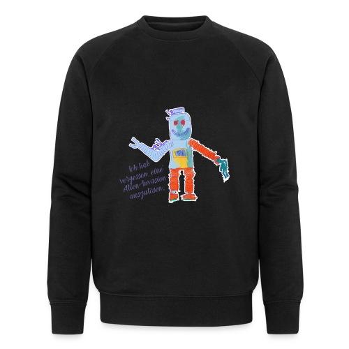 Alien Invasion - Männer Bio-Sweatshirt von Stanley & Stella