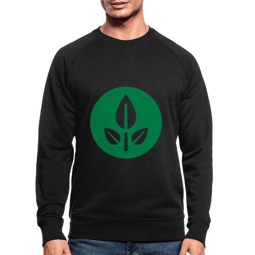 EVE Flower Plant Symbol - Men's Organic Sweatshirt