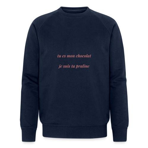 Tu es mon chocolat clair - Sweat-shirt bio