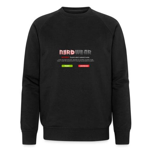 N3RD WEAR - Explicit - Männer Bio-Sweatshirt von Stanley & Stella