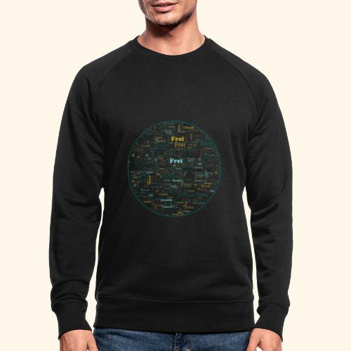 Ich bin - Männer Bio-Sweatshirt