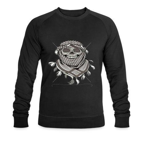 Krieger - Männer Bio-Sweatshirt