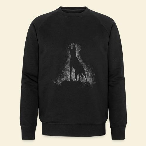 Dog Silhouette - Männer Bio-Sweatshirt von Stanley & Stella