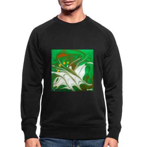 TIAN GREEN Mosaik CG002 - quaKI - Männer Bio-Sweatshirt