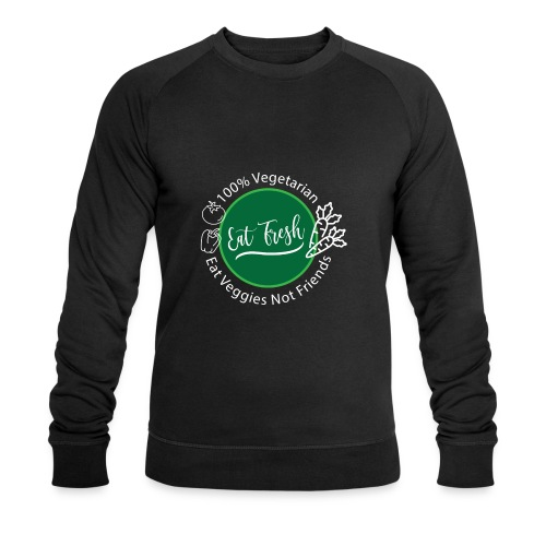 Gezond eten vegetarische t-shirt - Mannen bio sweatshirt van Stanley & Stella