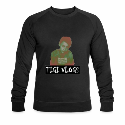 TIGIVLOGS JUL MERCH! - Ekologisk sweatshirt herr från Stanley & Stella