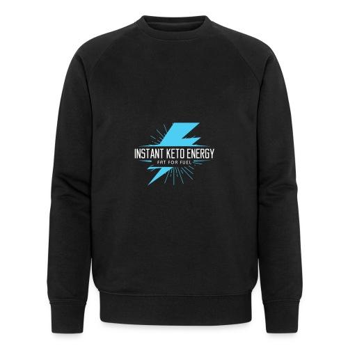 instantketoenergy - Männer Bio-Sweatshirt