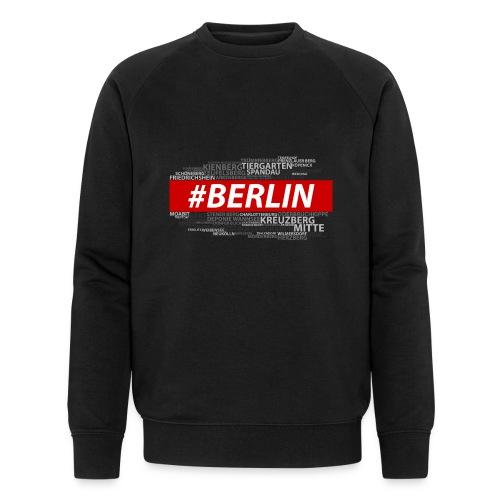 Hashtag Berlin - Männer Bio-Sweatshirt von Stanley & Stella