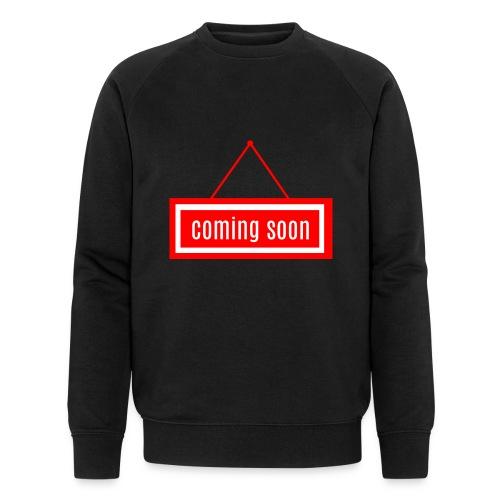 Coming soon - Männer Bio-Sweatshirt