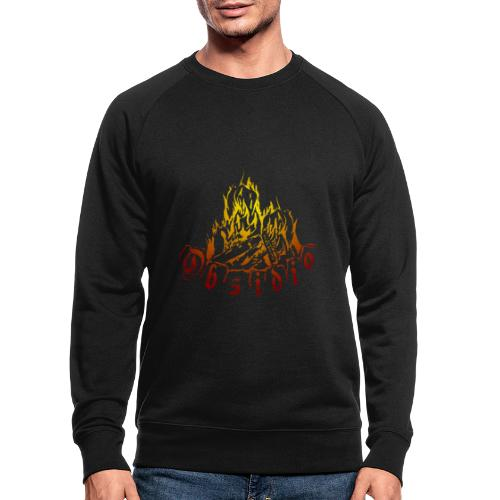 Obsidio Feuer - Männer Bio-Sweatshirt