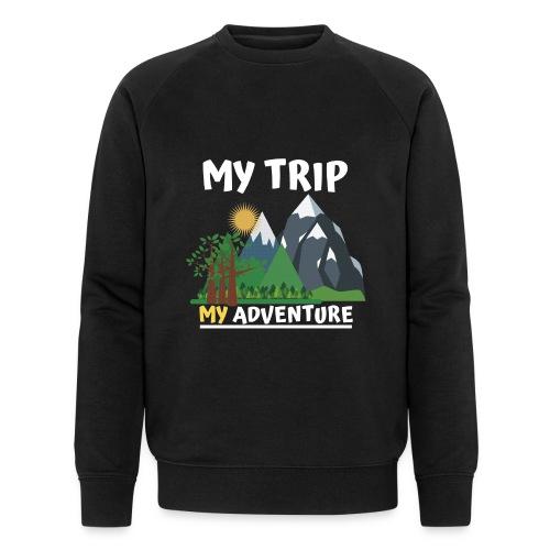 Adventure Tame . My Adventure - Men's Organic Sweatshirt by Stanley & Stella