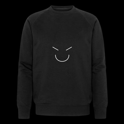 Gute Laune Weiss - Männer Bio-Sweatshirt von Stanley & Stella